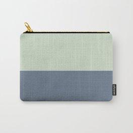 Tea Green/ Payne's Grey Carry-All Pouch