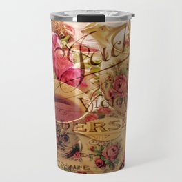 Teacup and Roses 3 Travel Mug