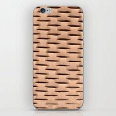Brown Kraft Paper Weave Texture iPhone & iPod Skin