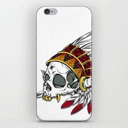 Geronimo's Head iPhone Skin