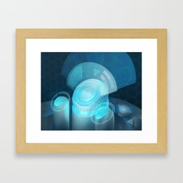 Netrunner - Security Nexus Framed Art Print