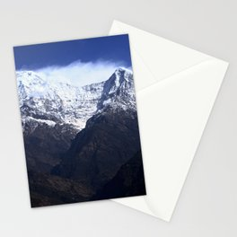 Annapurna South And Hiunchuli Mountains Stationery Cards