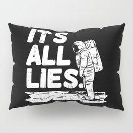 Moon Landing Conspiracy Theory Fake Illuminati Shirt & Gift Pillow Sham