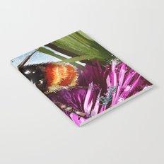 Bee on flower 9 Notebook