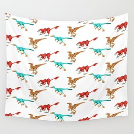 Dino Pattern 1 Wall Tapestry