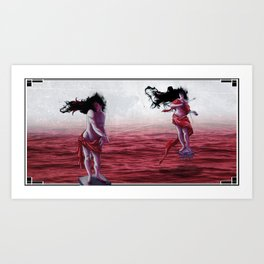 In Tow Art Print