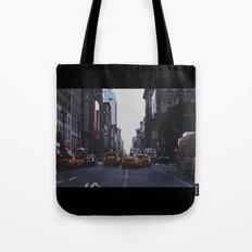 New York Traffic Tote Bag
