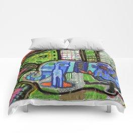 Blue Guy Comforters