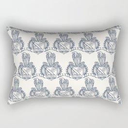 Nolite Te Bastardes Carborundorum_Crest Rectangular Pillow