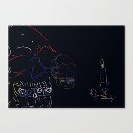 Critical Canvas Print