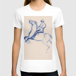 Jockey By Edgar Degas | Reproduction | Famous French Painter T-shirt
