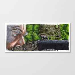 Jurassic Park - Clever Girl Canvas Print