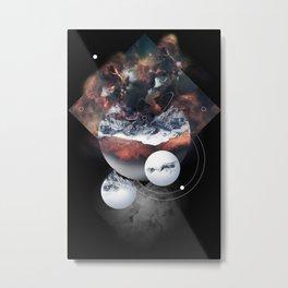Crystal Nebula Metal Print