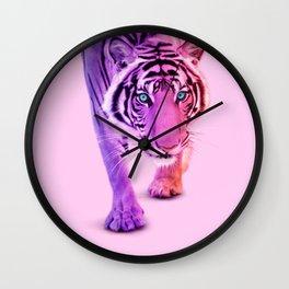 COLOR TIGER Wall Clock