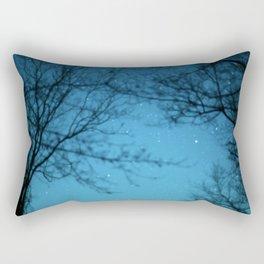Starry Sky - Night Photography Shot Rectangular Pillow