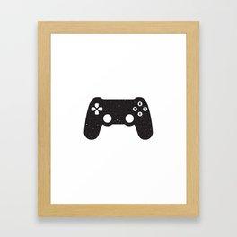 NOTHING #3 - QUIT? Y/N Framed Art Print