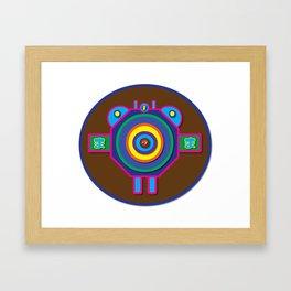 Fly   Minimoshi Series Framed Art Print