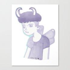 Pastel Punk Pixie Boy Canvas Print