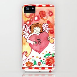 Healed Heart iPhone Case