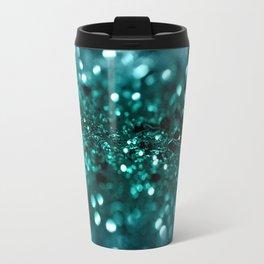 Sparkling OCEAN Glitter #1 #shiny #decor #art #society6 Travel Mug