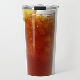 A Glass of Iced Tea Travel Mug