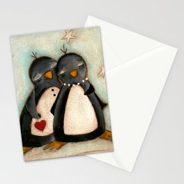 Penguin love -  Stationery Cards