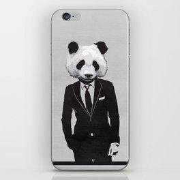 Panda Suit iPhone Skin