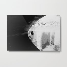 Under the Bridge #5 Metal Print