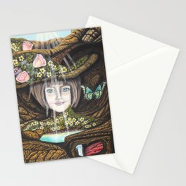 La source de l'amour Stationery Cards