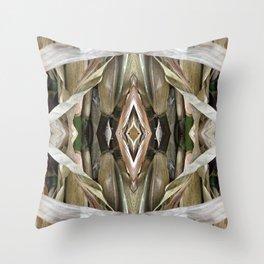 Corn Stalk Pattern Throw Pillow