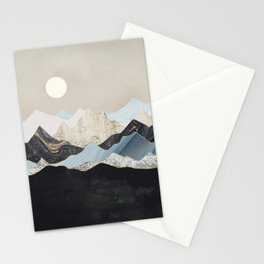 Silent Dusk Stationery Cards