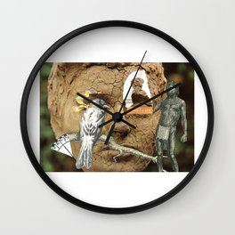 We're All The Same, When You Turn Out The Lights # 2 Wall Clock