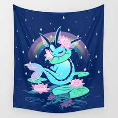 April Shower Wall Tapestry