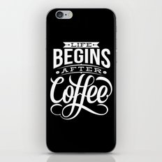 Life Begins iPhone & iPod Skin