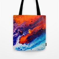 return Tote Bags featuring Return by Kimsey Price
