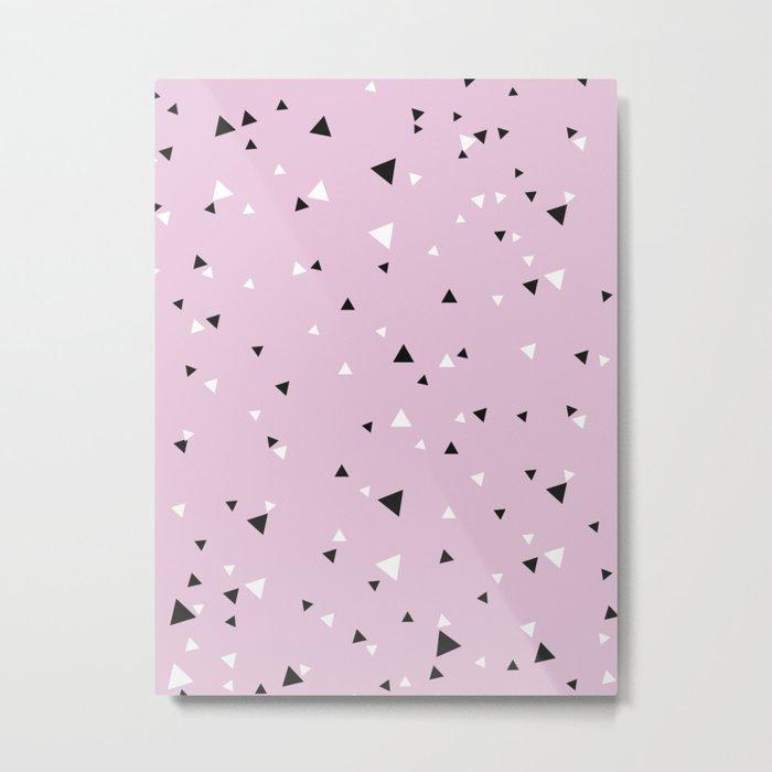 Little Triangle Geometry Metal Print