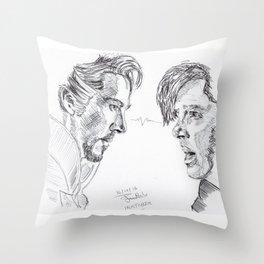 Inktober #16 Throw Pillow