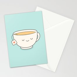 Teacup Stationery Cards