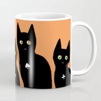 kittens Mugs featuring Kittens by Bolkonsky