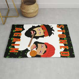 Stoned Again Black Edition Rug