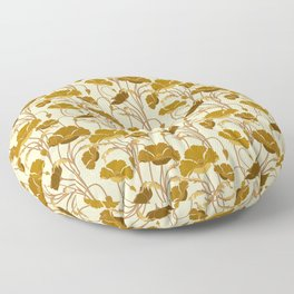 Sunfield Poppies Floor Pillow
