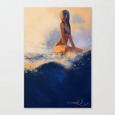 Morning Wave Canvas Print