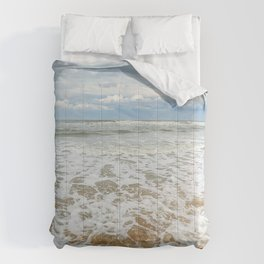 Consuming Waves Comforters