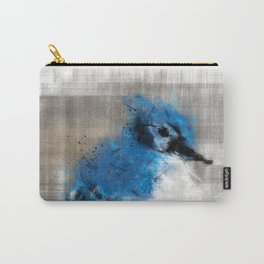 A Blue Jay Today Carry-All Pouch