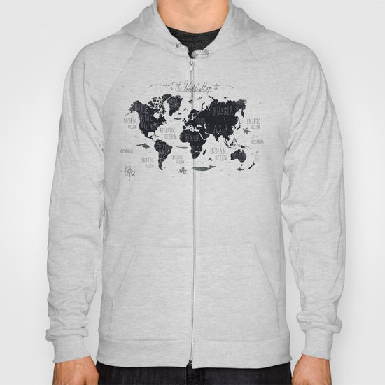 The world map hoody by mikekoubou society6 gumiabroncs Images
