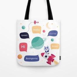COSMODOG : Hello Tote Bag
