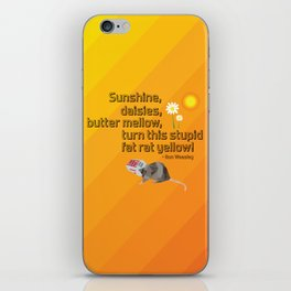 Are you sure that's a real spell? iPhone Skin