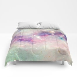 The colors of the galaxy Comforters