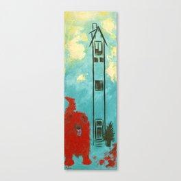 Big Red Dog Canvas Print