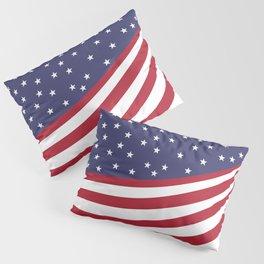 New American Flag Pillow Sham